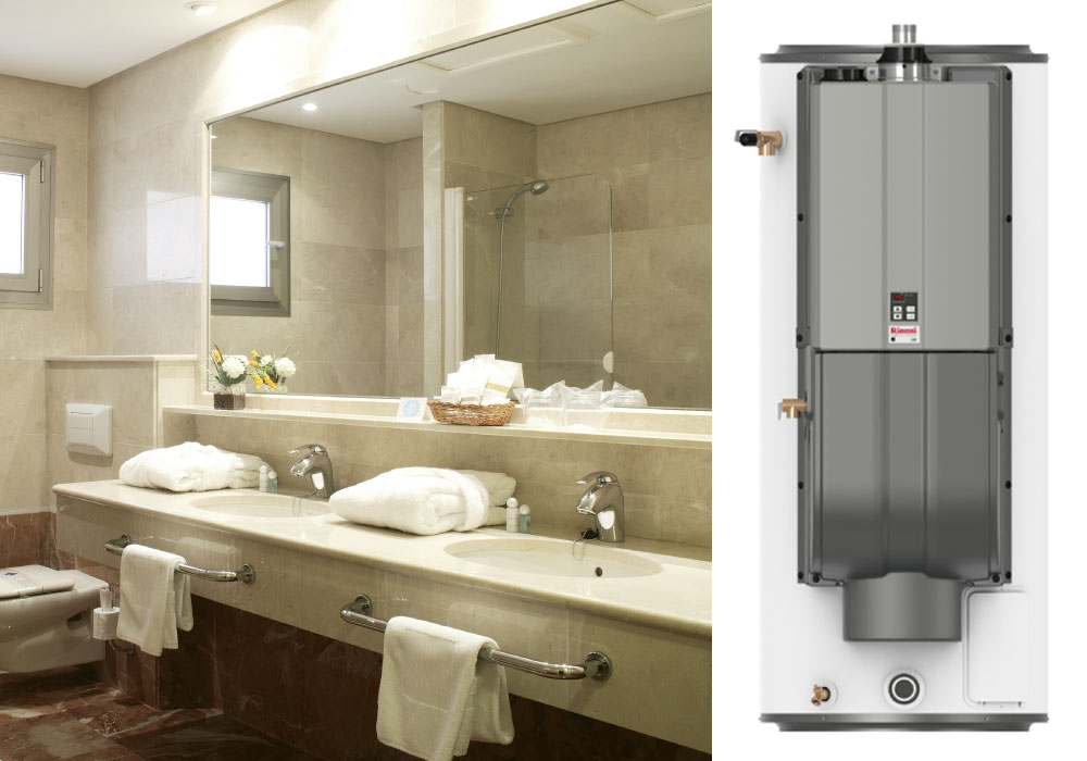 The Rinnai Demand Duo is designed to keep up with your commercial water heating needs!