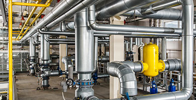 Call Plumbing Solutions when you need industrial plumbing services!
