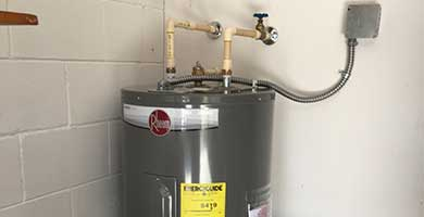 Expert water heating services!